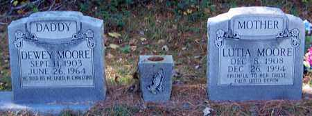 MOORE, DEWEY - Marion County, Mississippi | DEWEY MOORE - Mississippi Gravestone Photos