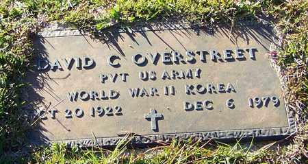 OVERSTREET (VETERAN 2WARS), DAVID C - Marion County, Mississippi | DAVID C OVERSTREET (VETERAN 2WARS) - Mississippi Gravestone Photos