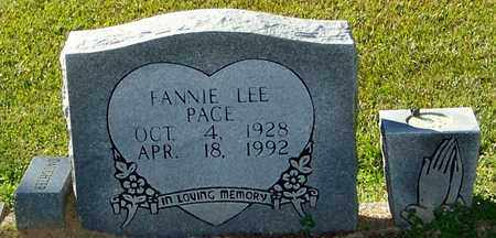 LEE PACE, FANNIE - Marion County, Mississippi | FANNIE LEE PACE - Mississippi Gravestone Photos