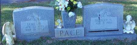 PACE, LUKE JR - Marion County, Mississippi | LUKE JR PACE - Mississippi Gravestone Photos
