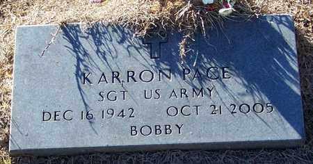 PACE (VETERAN), BOBBY KARRON - Marion County, Mississippi   BOBBY KARRON PACE (VETERAN) - Mississippi Gravestone Photos
