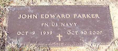 PARKER (VETERAN), JOHN EDWARD - Marion County, Mississippi | JOHN EDWARD PARKER (VETERAN) - Mississippi Gravestone Photos