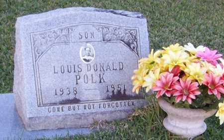 POLK, LOUIS DONALD - Marion County, Mississippi | LOUIS DONALD POLK - Mississippi Gravestone Photos