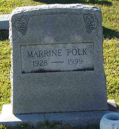 POLK, MARRINE - Marion County, Mississippi | MARRINE POLK - Mississippi Gravestone Photos