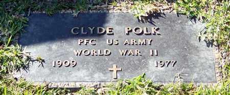 POLK (VETERAN WWII), CLYDE - Marion County, Mississippi | CLYDE POLK (VETERAN WWII) - Mississippi Gravestone Photos
