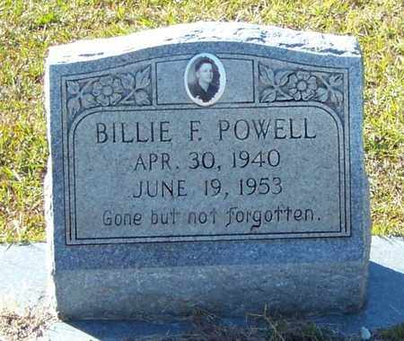 POWELL, BILLIE FLOYD - Marion County, Mississippi | BILLIE FLOYD POWELL - Mississippi Gravestone Photos