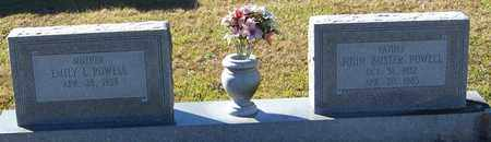 """POWELL, JOHN D """"BUSTER"""" - Marion County, Mississippi 