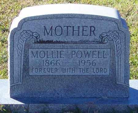 BENNETT POWELL, MARY MOLLIE - Marion County, Mississippi | MARY MOLLIE BENNETT POWELL - Mississippi Gravestone Photos