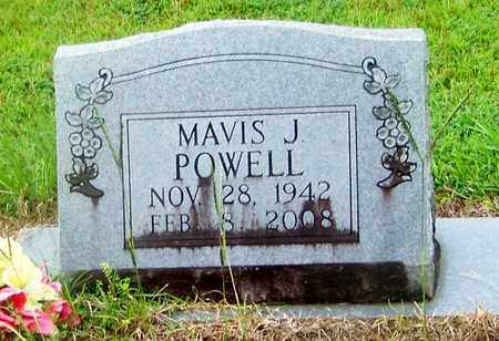 POWELL, MAVIS J - Marion County, Mississippi | MAVIS J POWELL - Mississippi Gravestone Photos