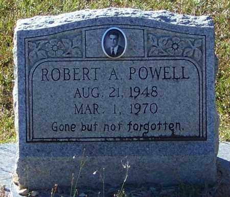 POWELL, ROBERT A - Marion County, Mississippi | ROBERT A POWELL - Mississippi Gravestone Photos
