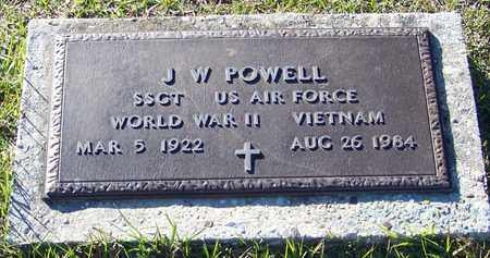 POWELL (VETERAN 2WARS), J W - Marion County, Mississippi | J W POWELL (VETERAN 2WARS) - Mississippi Gravestone Photos