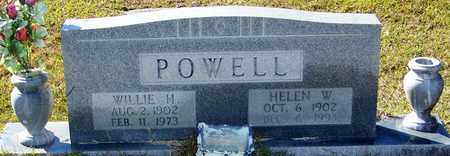 POWELL, HELEN W - Marion County, Mississippi | HELEN W POWELL - Mississippi Gravestone Photos