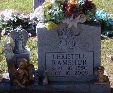 RAMSHUR, CHRISTELL - Marion County, Mississippi | CHRISTELL RAMSHUR - Mississippi Gravestone Photos