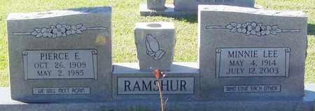 RAMSHUR, PIERCE E - Marion County, Mississippi | PIERCE E RAMSHUR - Mississippi Gravestone Photos