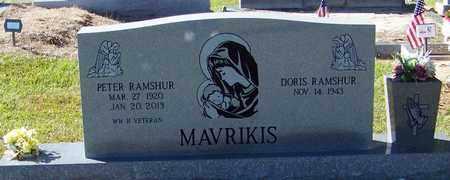 RAMSHUR, PETER - Marion County, Mississippi | PETER RAMSHUR - Mississippi Gravestone Photos