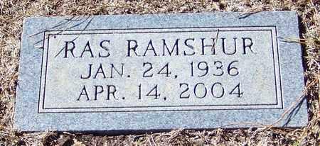 RAMSHUR, RAS - Marion County, Mississippi   RAS RAMSHUR - Mississippi Gravestone Photos