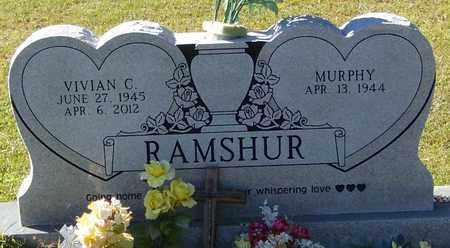 RAMSHUR, VIVIAN CAROL - Marion County, Mississippi | VIVIAN CAROL RAMSHUR - Mississippi Gravestone Photos