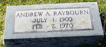 RAYBOURNE, ANDREW A - Marion County, Mississippi | ANDREW A RAYBOURNE - Mississippi Gravestone Photos