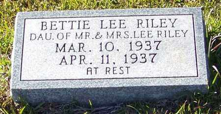 RILEY, BETTIE LEE - Marion County, Mississippi | BETTIE LEE RILEY - Mississippi Gravestone Photos