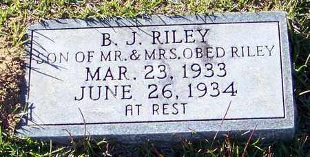 RILEY, B J - Marion County, Mississippi   B J RILEY - Mississippi Gravestone Photos