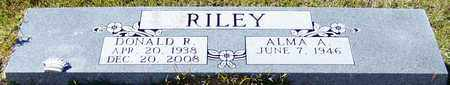 RILEY, DONALD RAY - Marion County, Mississippi   DONALD RAY RILEY - Mississippi Gravestone Photos