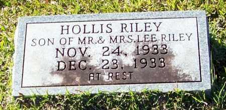 RILEY, HOLLIS - Marion County, Mississippi | HOLLIS RILEY - Mississippi Gravestone Photos