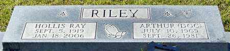 RILEY, HOLLIS RAY - Marion County, Mississippi | HOLLIS RAY RILEY - Mississippi Gravestone Photos