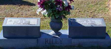 RILEY, OBED - Marion County, Mississippi | OBED RILEY - Mississippi Gravestone Photos