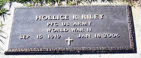 RILEY (VETERAN WWII), HOLLICE RAY - Marion County, Mississippi | HOLLICE RAY RILEY (VETERAN WWII) - Mississippi Gravestone Photos