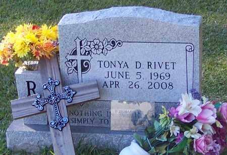 RIVET, TONYA D - Marion County, Mississippi | TONYA D RIVET - Mississippi Gravestone Photos