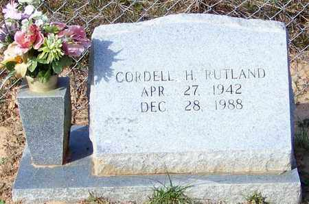 RUTLAND, CORDELL H - Marion County, Mississippi | CORDELL H RUTLAND - Mississippi Gravestone Photos