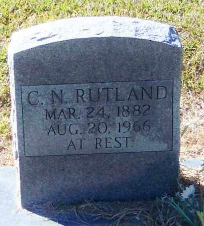RUTLAND, CHARLIE N - Marion County, Mississippi   CHARLIE N RUTLAND - Mississippi Gravestone Photos