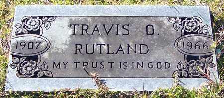 RUTLAND, TRAVIS O - Marion County, Mississippi | TRAVIS O RUTLAND - Mississippi Gravestone Photos