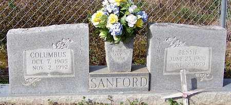 SANFORD, COLUMBUS - Marion County, Mississippi   COLUMBUS SANFORD - Mississippi Gravestone Photos