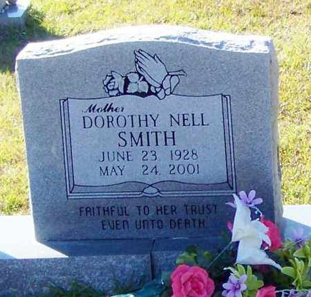 SMITH (CLOSE UP), DOROTHY NELL - Marion County, Mississippi | DOROTHY NELL SMITH (CLOSE UP) - Mississippi Gravestone Photos