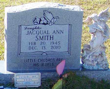 SMITH (CLOSE UP), JACQUAL ANN - Marion County, Mississippi | JACQUAL ANN SMITH (CLOSE UP) - Mississippi Gravestone Photos