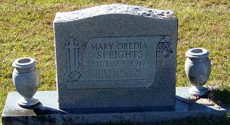 POWELL SPEIGHTS, MARY OREDIA - Marion County, Mississippi | MARY OREDIA POWELL SPEIGHTS - Mississippi Gravestone Photos