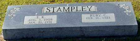 STAMPLEY, E K - Marion County, Mississippi | E K STAMPLEY - Mississippi Gravestone Photos