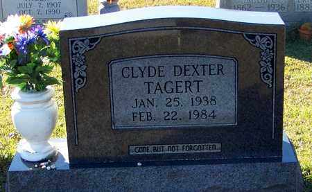 TAGERT, CLYDE DEXTER - Marion County, Mississippi | CLYDE DEXTER TAGERT - Mississippi Gravestone Photos