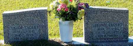 TAGERT, JEANIE - Marion County, Mississippi | JEANIE TAGERT - Mississippi Gravestone Photos