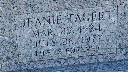 TAGERT (CLOSE UP), JEANIE - Marion County, Mississippi | JEANIE TAGERT (CLOSE UP) - Mississippi Gravestone Photos