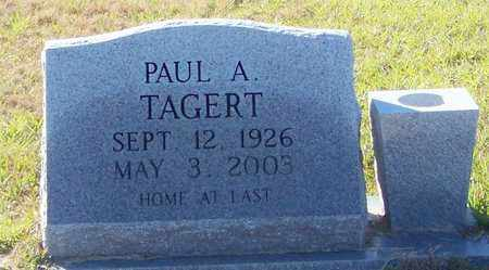 TAGERT, PAUL ARTHUR - Marion County, Mississippi | PAUL ARTHUR TAGERT - Mississippi Gravestone Photos