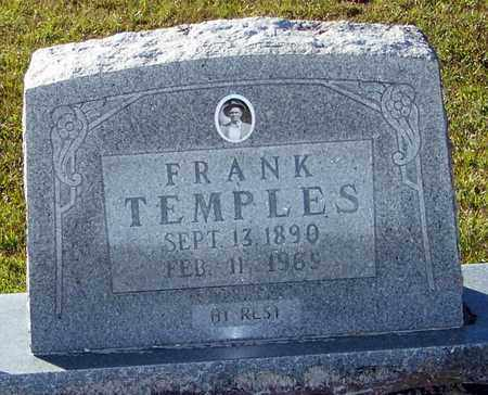 TEMPLES, FRANK - Marion County, Mississippi | FRANK TEMPLES - Mississippi Gravestone Photos