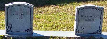 TEMPLES, INFANT TWIN BOYS - Marion County, Mississippi | INFANT TWIN BOYS TEMPLES - Mississippi Gravestone Photos