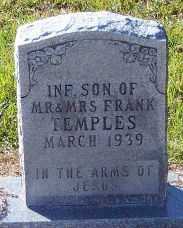 TEMPLES, INFANT - Marion County, Mississippi | INFANT TEMPLES - Mississippi Gravestone Photos