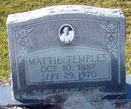 TEMPLES, MATTIE - Marion County, Mississippi   MATTIE TEMPLES - Mississippi Gravestone Photos