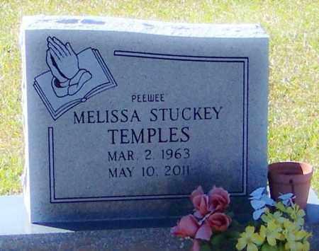 STUCKEY TEMPLES, MELISSA - Marion County, Mississippi | MELISSA STUCKEY TEMPLES - Mississippi Gravestone Photos