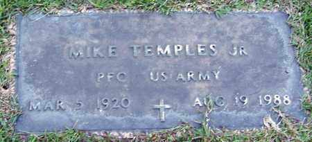 TEMPLES (VETERAN WWII), MIKE JR - Marion County, Mississippi | MIKE JR TEMPLES (VETERAN WWII) - Mississippi Gravestone Photos