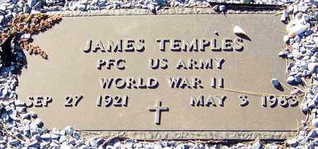 TEMPLES (VETERAN WWII), JAMES - Marion County, Mississippi   JAMES TEMPLES (VETERAN WWII) - Mississippi Gravestone Photos