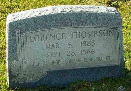 THOMPSON, FLORENCE - Marion County, Mississippi   FLORENCE THOMPSON - Mississippi Gravestone Photos